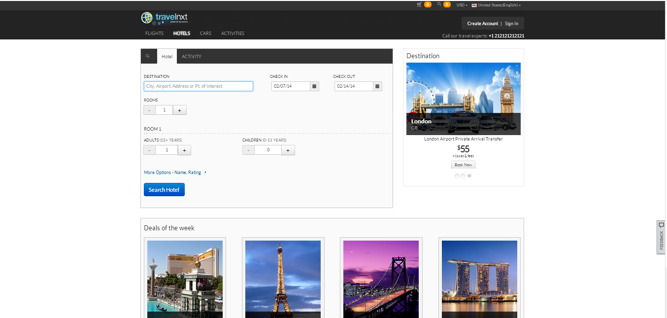 'Mystique' the new face of travelnxt user interface – An experience booster