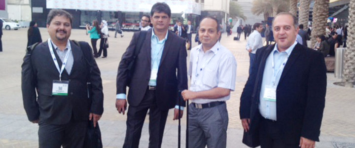 Day 3 at Exhibition ATM 2014: The pride in standing beside customers