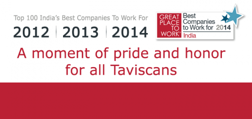 Tavisca Solutions among the Top 100 India's Best Companies to Work for 2014